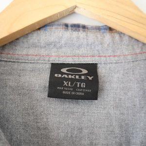 Oakley Shirts - Oakley - Crisp Fall Long Sleeve Plaid Shirt XL